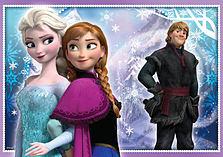 Disney Frozen Trio Jigsaw Puzzles screen shot 2