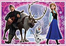 Disney Frozen Trio Jigsaw Puzzles screen shot 3
