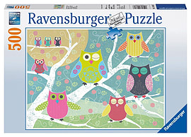 Colourful Owls 500pc Traditional Games