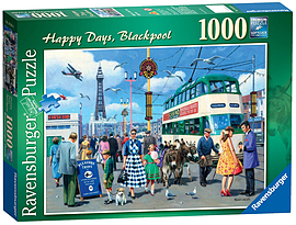 Happy Days - Blackpool, 1000pc Traditional Games