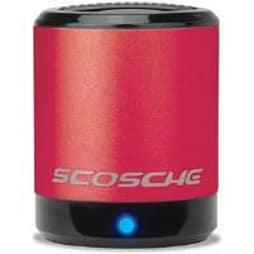 Scosche boomCAN Portable Mini Speaker (Red) PC