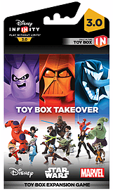 Disney Infinity 3.0 Toy Box Takeover Expansion Game Piece Toys and Gadgets