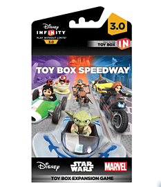 Disney Infinity 3.0 Toy Box Speedway Expansion Game Piece Toys and Gadgets