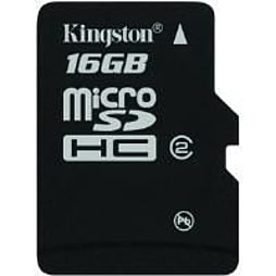 Kingston Microsdhc 16gb Card (class 4) PC