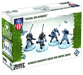 Dust Tactics: Special Ops Rangers Figurines and Sets
