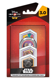 Disney Infinity 3.0 Twilight of the Republic Power Disc Pack Toys and Gadgets