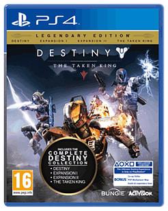 Destiny: The Taken King - Legendary Edition PlayStation 4 Cover Art
