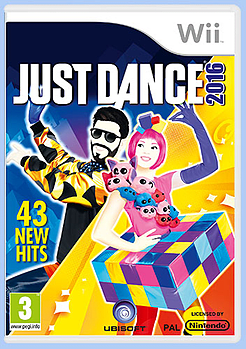 Just Dance 2016 Wii Cover Art