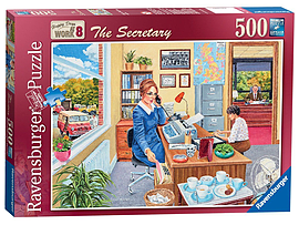 Happy Days at Work - The Secretary, 500pc Traditional Games
