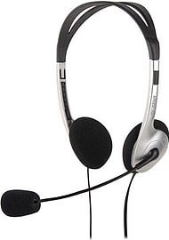 Speedlink Maia Stereo Headset, Black/silver (sl-8720-sv) Multi Format and Universal