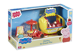 Peppa Pig Holiday Ice Cream Van Pre School Toys