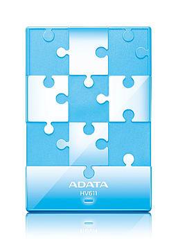 Adata Hv611 (1tb) External Usb 3.0 Hard Disk Drive (blue) PC