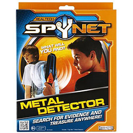 Spy Net Metal Detector Figurines and Sets