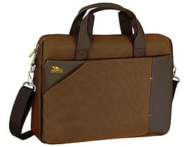 Rivacase 8130 15.6 Inch Laptop Bag, Dark Brown Tablet