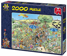 Jan Van Haasteren The March Puzzle (2000 Pieces) Traditional Games
