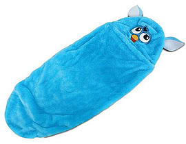 Furby Plush Sleeping Bag With Hood And Carry Bag (ofur164) Pre School Toys