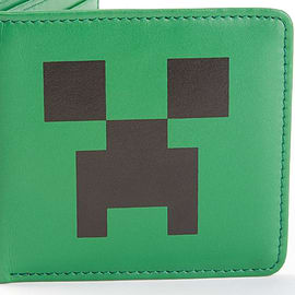 Officially Licensed MINECRAFT LEATHER WALLET Mine Craft Wallet Clothing