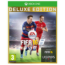 FIFA 16 Deluxe Edition XBOX ONE Cover Art