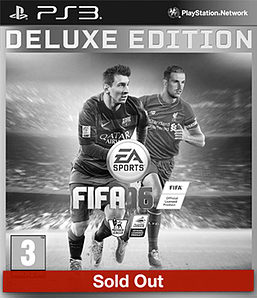 FIFA 16 Deluxe Edition PlayStation 3
