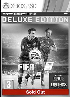 FIFA 16 Deluxe Edition Xbox 360