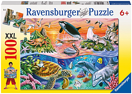 Underwater Adventures Puzzle (XXL, 100 Pieces) Traditional Games