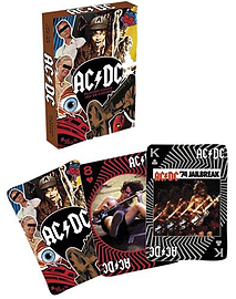 AC/DC Classic Image Playing Card Set Traditional Games