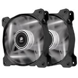 Corsair Air Series SP120 High Static Pressure Fan (120mm) with White LED (Twin Pack) PC