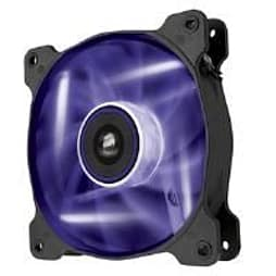 Corsair Air Series AF120 LED Purple Quiet Edition High Airflow 120mm Fan Single Fan PC