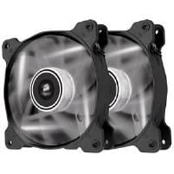Corsair Air Series AF120 LED White Quiet Edition High Airflow 120mm Fan Dual Fans PC