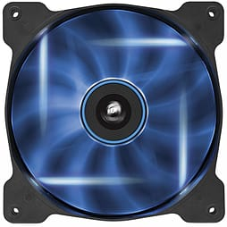 Corsair Air Series AF140 LED Blue Quiet Edition High Airflow 140mm Fan Single Fan PC