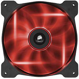 Corsair Air Series AF140 LED Red Quiet Edition High Airflow 140mm Fan Single Fan PC