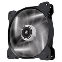 Corsair Air Series AF140 LED White Quiet Edition High Airflow 140mm Fan Single Fan PC