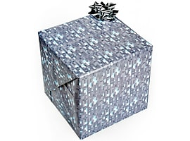 Officially Licensed JINX Minecraft Gift Wrap Mine Craft Wrapping Paper DIAMOND Gift Wrap