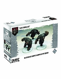 Dust Tactics: Axis Gorillas Figurines and Sets