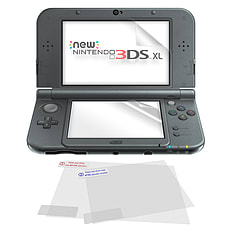 ZedLabz 5 in 1 screen protector film guard pack Nintendo new 3DS XL (new 2015 model) 3DS