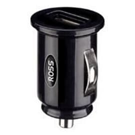 Ross Mobile Single Usb Car Charger 1 Amp (black) Mobile phones