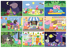 Peppa Pig 9-in-1 Jigsaw Puzzle Pack screen shot 1