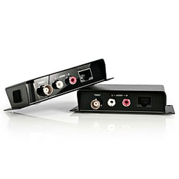 Startech Composite Video Extender Over Cat 5 With Audio Video/audio Extender External Up To 200 M PC