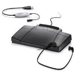 Philips Dictation Tran Hw USB, Footpedal, Headset, Adaptor PC