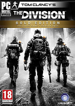 Tom Clancy's The Division Gold Edition PC Games Cover Art