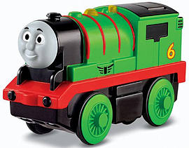 Thomas and Friends Wooden Railway Battery Operated Percy Engine Pre School Toys