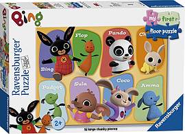 Bing Bunny My First Floor Puzzle 16 Pieces Traditional Games