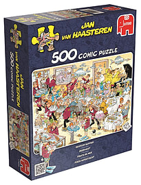 Jan van Haasteren Seafood Supper 500 Piece Jigsaw Puzzle Traditional Games