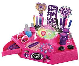 Cra-Z-Art Shimmer and Sparkle Designer Nails/ Body Art Studio Pre School Toys