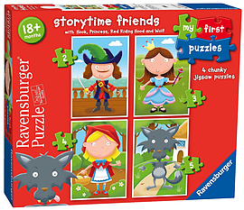 My First Storytime Friends Puzzles Traditional Games