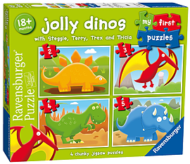 My First Jolly Dinos Puzzles Traditional Games