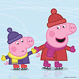 Peppa Pig 4-in-1 Jigsaw Puzzles ( 4 Seasons) screen shot 1