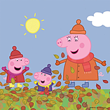 Peppa Pig 4-in-1 Jigsaw Puzzles ( 4 Seasons) screen shot 2