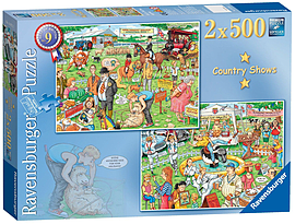 Best of British - The Country Show, 2x500pc Traditional Games