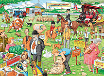 Best of British - The Country Show, 2x500pc screen shot 2